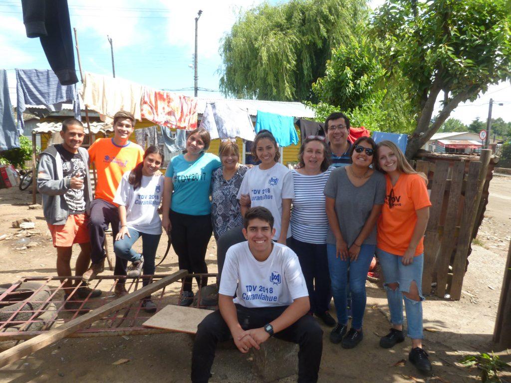 trabajos voluntarios curanilahue 2018