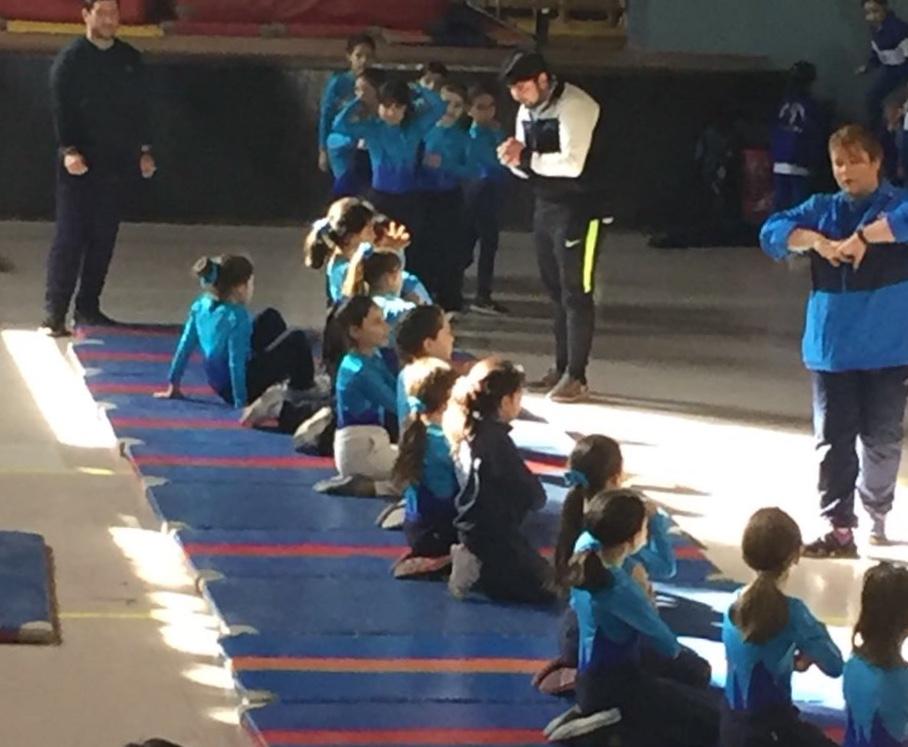 Encuentro de Gimnasia Artística Femenina