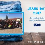 Último día de clases . Jeans Day Solidario Trabajos de Invierno