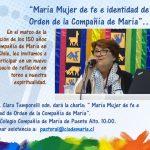 Reflexión sobre nuestra Identidad y Espiritualidad. Hna. Clara Temporelli.