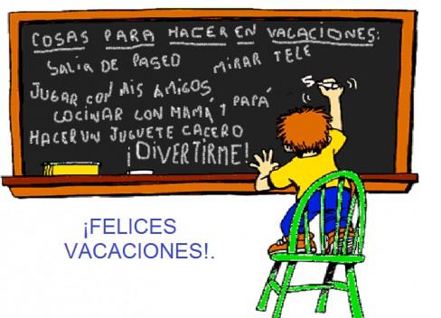 Felices Vacaciones…