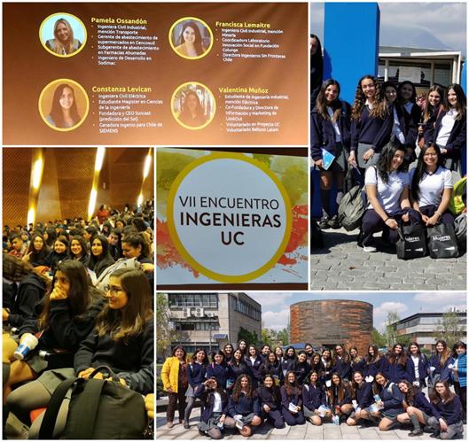 Alumnas invitadas a Encuentro de Mujeres Ingenieras U.C