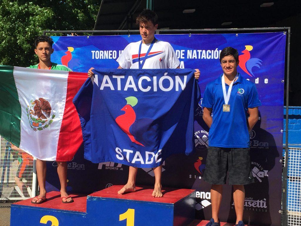 Carlos Díaz … Nuevamente en el podio