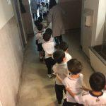 Preescolar realiza ensayo de Evacuación