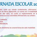 Circular Jornada Escolar 2021