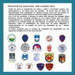 Proceso de Admisión Pre-Kinder 2022