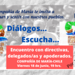 Asamblea Eclesial Dialogo... Escucha.. Hoy viernes 18 junio